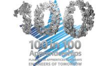 '100 in 100' apprenticeships