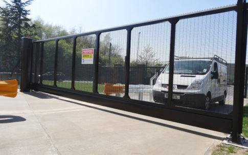 Gate installed to Gate Safe standards