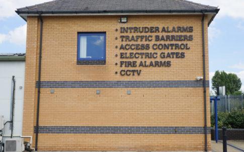 Sign with Burglar Alarm Leeds