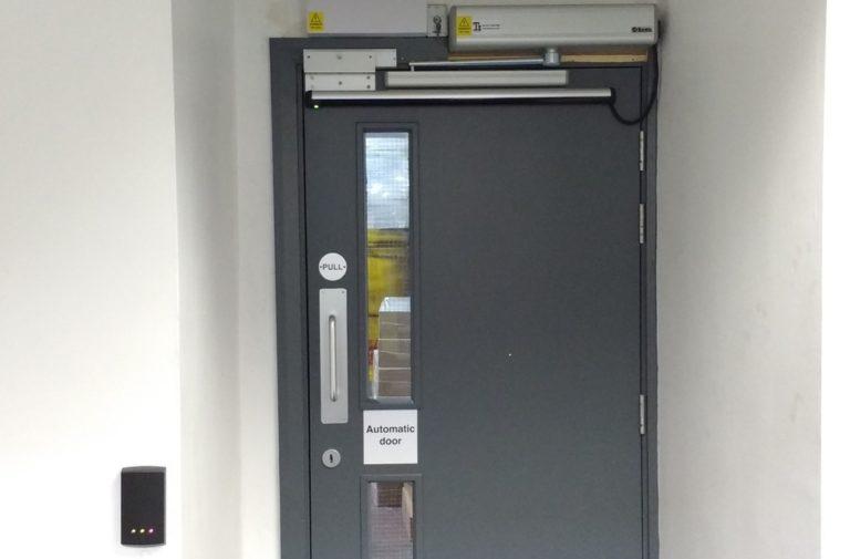 Automatic Door Opening