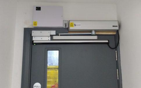 Business Electric Door