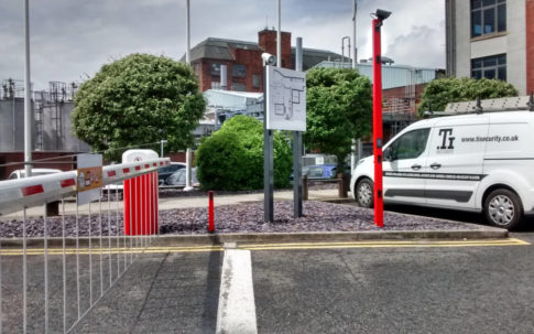 Hands Free Intercom for Traffic Barrier