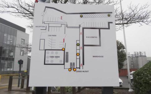 Intercom Access Control Map