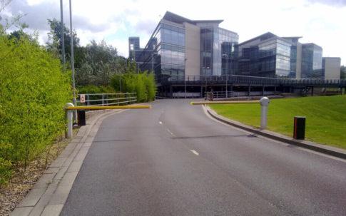 Multiple Traffic Barriers Leeds
