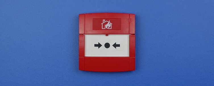 Education Fire Alarm call point