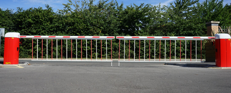 Entrance Car Park Barrier