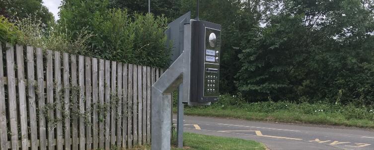 School Entrance Intercom Access Control