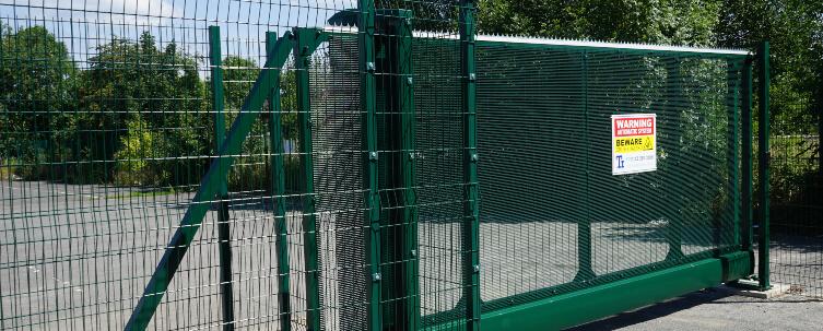 School Gate Green