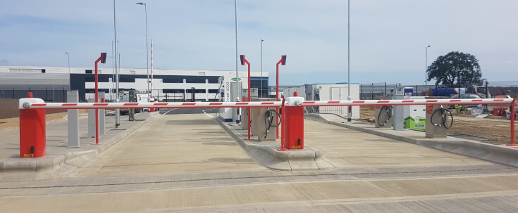 Traffic Barriers Entrance